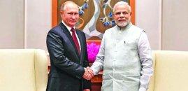 Amid U.S. threat, India, Russia set to sign three major deals